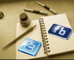 Contenidos de escritores en las redes sociales